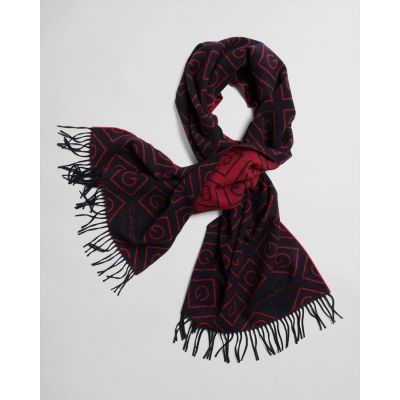 Iconic G Pattern Wool Scarf